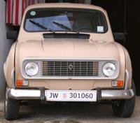 Renault R4 auf der Insel Krk (Kroatien)