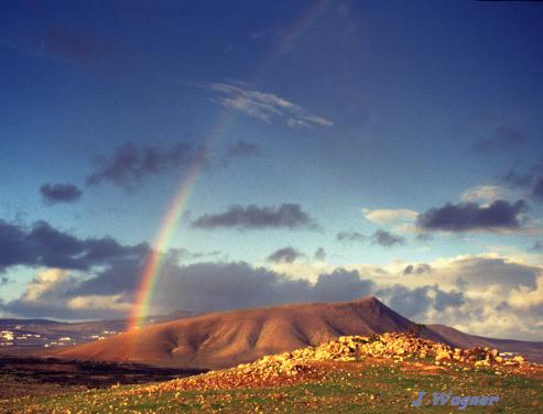 Regenbogen auf Lazarote