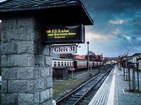 Bahnhof HSB Wernigerode im Harz