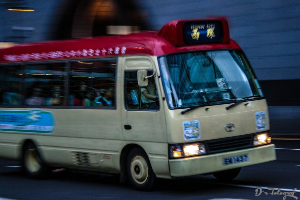 MiniBus in Hong Kong